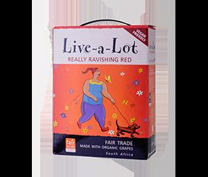 Live-a-Lot 3litre BIB Rather Ravishing Red Side Included